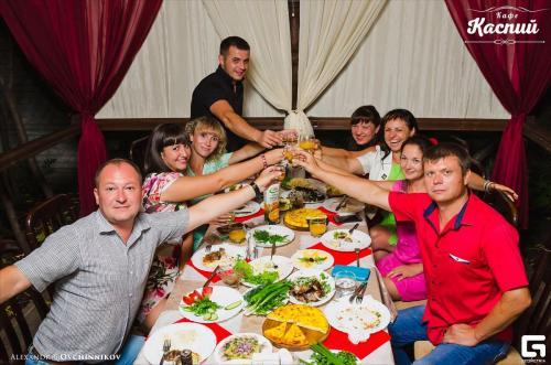 Дни рождения в ресторане Каспий Луганск